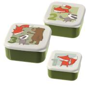 Sigikid 24988 Snackboxen Freunde Forest