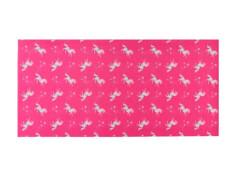 Multifunktionstuch Einhorn pink