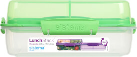 Sistema Lunchbox  1,8 l, sort