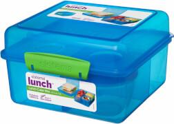 Sistema Lunchbox 4-fach untert. 2 l, sort.