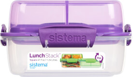 Sistema Lunchbox 1,24 l. sort.