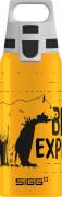 SIGG BRAVE BAER 0.6 L Trinkflasche ALU mit WMB ONE TOP, BPA frei, Auslaufsicher, Co# tauglich