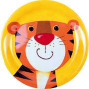 Melamin-Teller Tiger  Freche Rasselbande