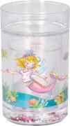 Glitzerbecher mit Schwimmelementen Prinzessin Lillifee Meerjungfrau