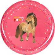 Melamin-Teller Mein kleine Ponyhof