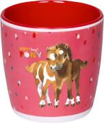Melamin-Tasse Mein kleine Ponyhof