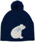 Mütze Eisbär Fröhliche Weihnachten!