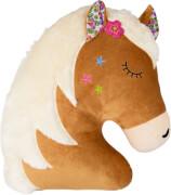 Kissen Pferdefreunde  Pferdekopf