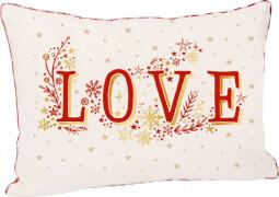 Kissen Love Endlich Weihnachten!  ca.50x35 cm