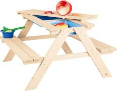 Kindersitzgarnitur Matsch-Nicki für 4, natur