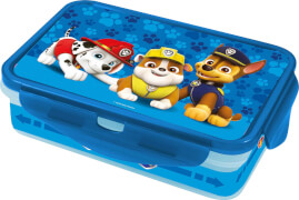 P:OS Paw Patrol, Lunch To Go, mit 4 Clips & 2 Inlays, PP, Silikon, 1.100 ml