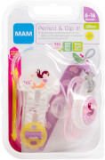 MAM Perfect Silikon 6-16 & Clip it! girl