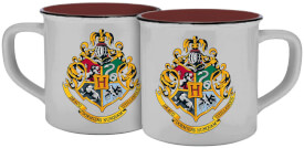 Tasse Hogwarts Wappen Emaille-Optik 300ml