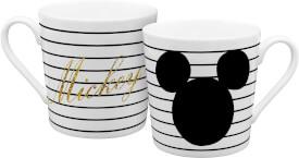 Tasse Mickey gold glitzer 350ml