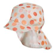 Sterntaler Schirmmütze m. Nackenschutz orange Gr.53