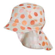 Sterntaler Schirmmütze m. Nackenschutz orange Gr.55