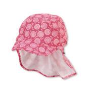 Sterntaler Schirmmütze m. Nackenschutz pink Gr.53