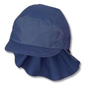 Sterntaler Schirmmütze m. Nackenschutz blau Gr.55