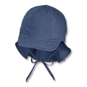 Sterntaler Schirmmütze m. Nackenschutz blau Gr.47
