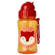 Zoo Kindertrinkflasche mit Strohhalm Fuchs