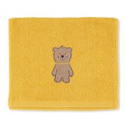 Sterntaler Kinderhandtuch Ben gelb