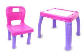 JAMARA 460720 Kindersitzgruppe Lets Study rosa