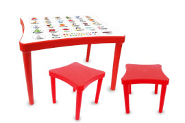 JAMARA 460737 Kindersitzgruppe Easy Learning 3tlg. rot