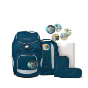 ergobag pack Schulrucksack-Set RobotBär