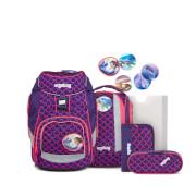ergobag pack Schulrucksack-Set PerlentauchBär