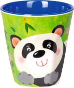Melamin-Becher Panda - Freche Rasselbande