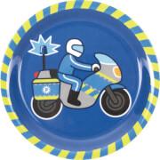 Melamin-Teller Polizei (Wenn ich mal groß bin)