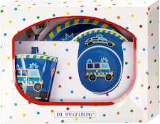 Melamin-Geschenkset Polizei (Wenn ich mal groß bin)