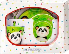 Melamin-Geschenkset Panda - Freche Rasselbande