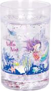 Glitzerbecher mit Schwimmelementen - Nella Nixe