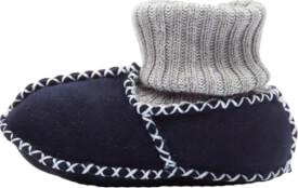 Fillikid Baby Lammfell Schuhe, marine, Gr. 19/20