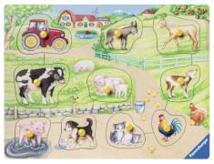 Ravensburger 03689 Morgens auf dem Bauernhof 10 Teile