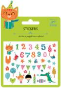 Mini Stickers Geburtstag (MQ12)