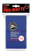 Blue PRO-Matte Deck Protector Standard (100)
