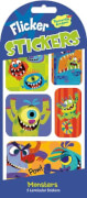 Monsters Wackelbild Stickers (MQ12) SV