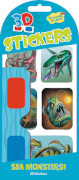 Sea Monster 3D Stickers (MQ12) SV