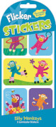 Silly Monkeys Wackelbild Stickers (MQ12) SV