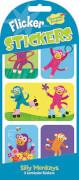 Silly Monkeys Wackelbild Stickers (MQ12) SV
