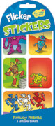 Rowdy Robots Wackelbild Stickers (MQ12) SV