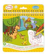 Stamp & Color Dinosaurier SV
