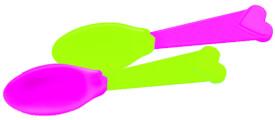 Eiscreme-Löffel, 2 Farben sortiert SV