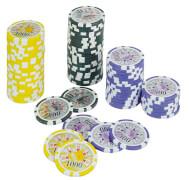 Poker Chips Deluxe Wert 1000 (25 Stk) (MQ5) ** SV
