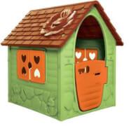 Spielhaus mit Fenster und Türen