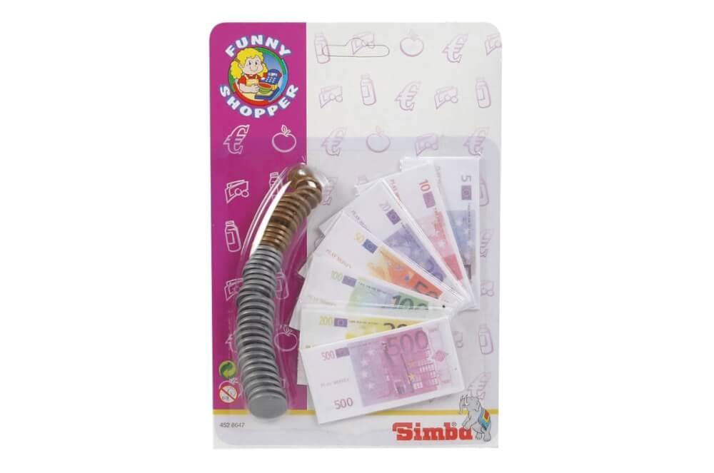 Simba 104528647 Euro Spielgeld Kaufladen Kasse Spielzeug Spiel Geld